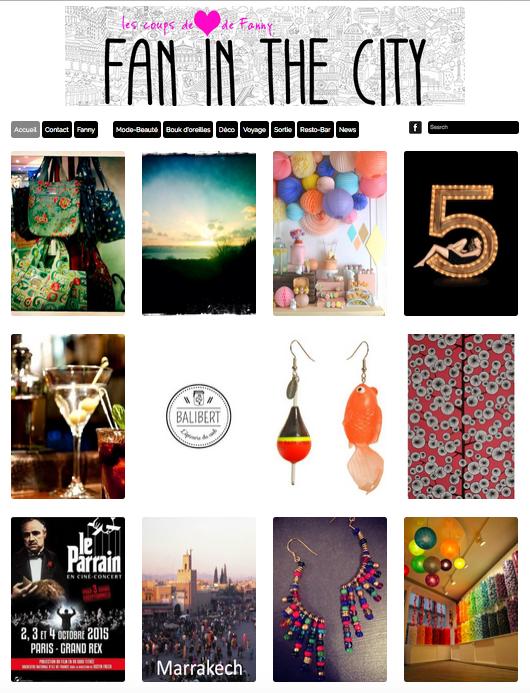 Le blog Fan in the City