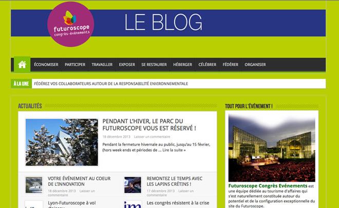 Le blog des séminaires au Futuroscope