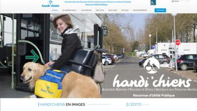 Site HANDI'CHIENS