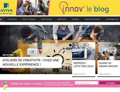 INNOV' LE BLOG : L'INNOVATION CHEZ AVIVA